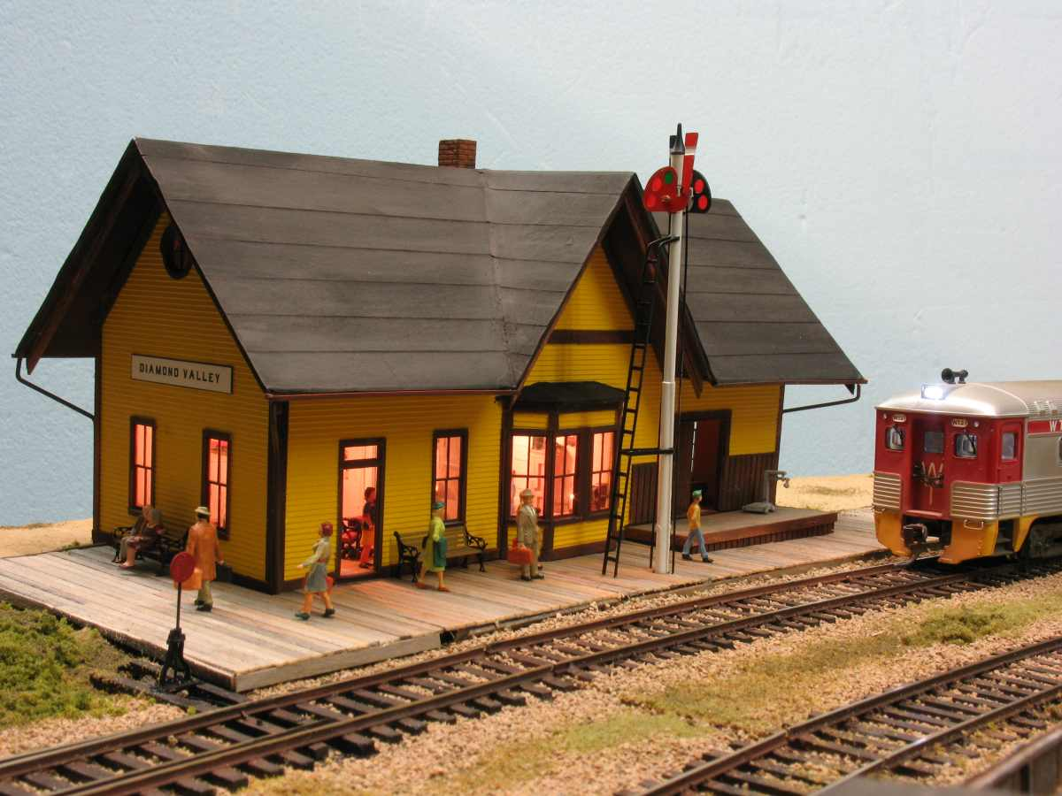 Train Station Platforms Model Railroader Magazine