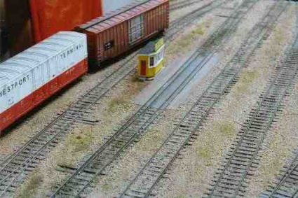 track scale in the yard