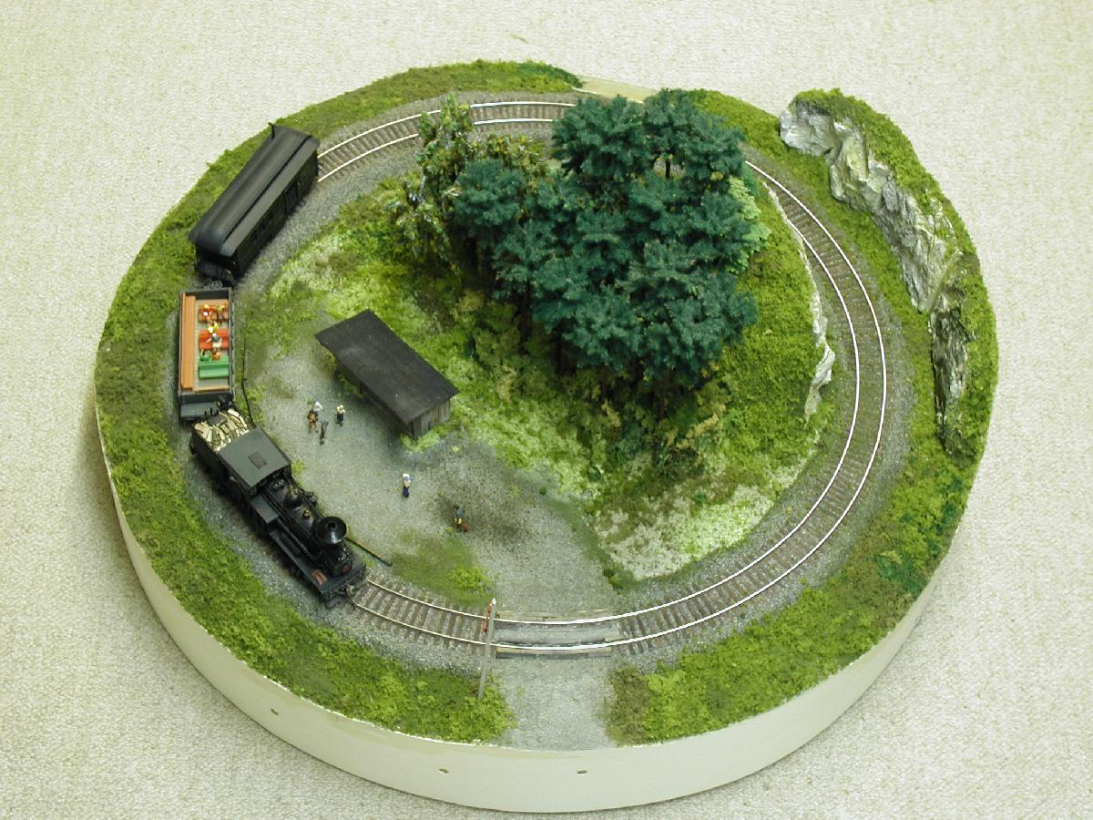 Smallest radius for ho scale model railroader magazine model railroading model trains - Ho scale layouts for small spaces concept ...